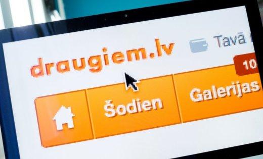 КИЇВ. 6 жовтня. УНН. У суботу в другій половині дня була зламана соціальна  мережа draugiem.lv 384fe3175308e