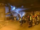 В Ивано-Франковске на крыше ресторана произошел пожар