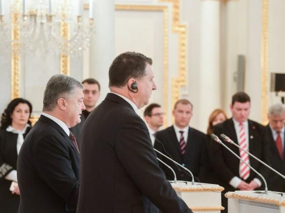 Санкції проти Росії повинні продовжуватися до виконання мінських угод – президент Латв