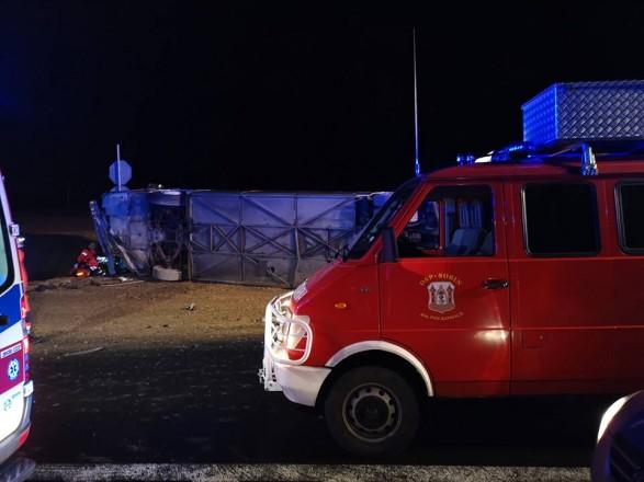 Более 30 человек пострадали в Польше в результате ДТП с автобусом