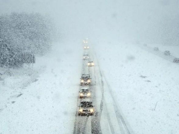 В Запорожской области ограничили движение по автодорогам
