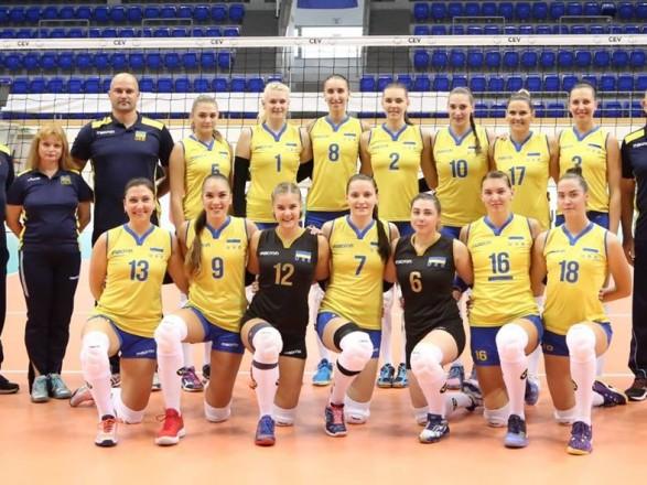 Жіноча збірна України в восьме вийшла на чемпіонат Європи з волейболу