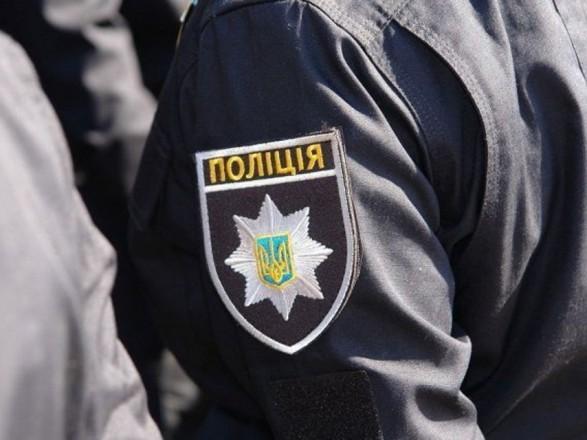В Киеве неизвестные пытались блокировать подразделение Нацполиции, ест