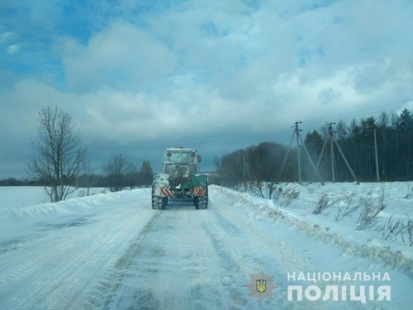 Во Львовской области временно перекрыто движение автотранспорта