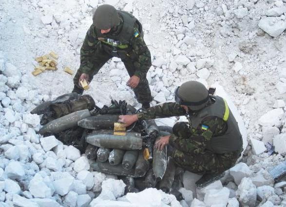 За тиждень на Донбасі очистили від мін майже 45 га