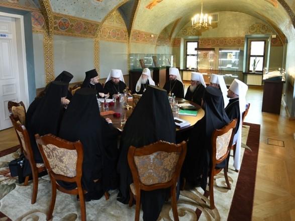 Синод УПЦ принял решение о литургии УГКЦ в Софийском соборе