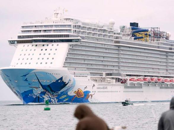 Раптовий вітер нахилив великий лайнер в районі Бермудського трикутника