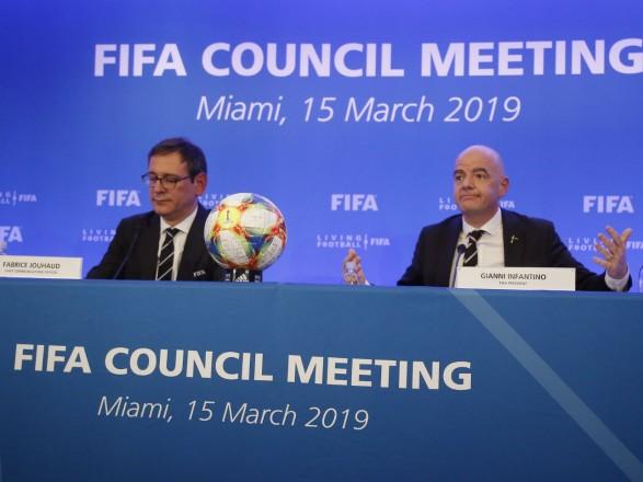 ФИФА: расширение количества участников ЧМ-2022 отложено, принят новый