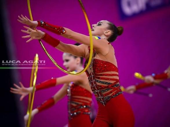 Сборная Украины стала победительницей этапа КС по художественной гимна