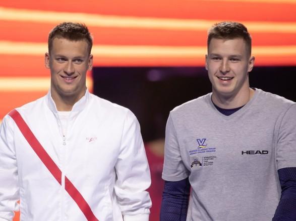 Українські плавці здобули дві медалі на етапі Ліги чемпіонів FINA