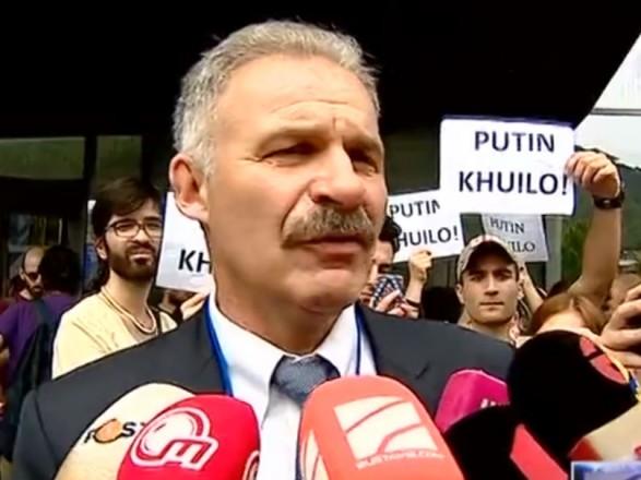 Український депутат публічно засудив росіян у Грузії: його евакуювали до посольства