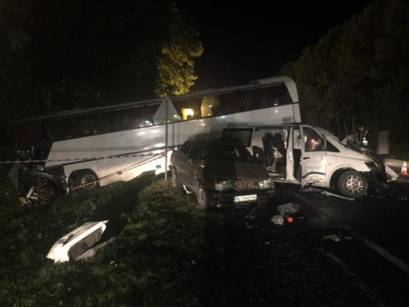 Через ДТП за участю автобуса з дітьми на Львівщині відкрили провадження