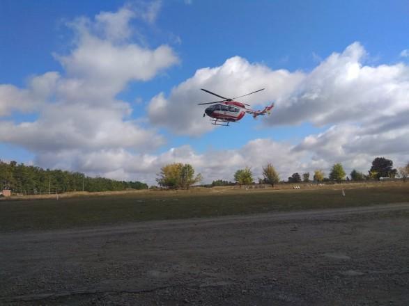 На час святкування Рош га-Шана до Умані направили рятувальній вертоліт