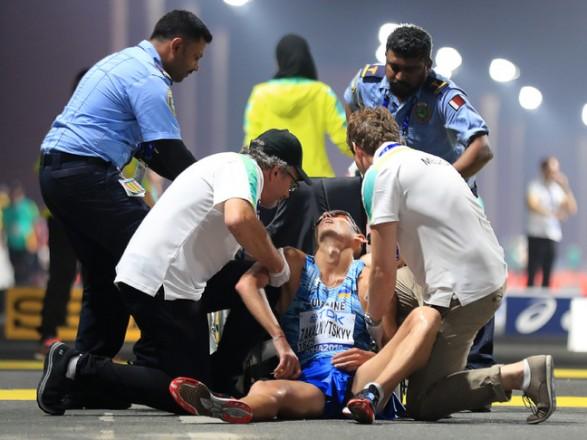 Українського спортсмена забрали зі змагань на ЧС в Катарі на інвалідному візку