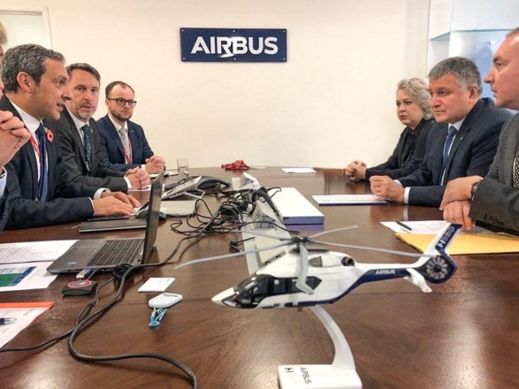 Аваков: в 2020 году МВД получит еще 10 вертолетов Airbus