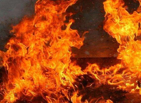 В Ивано-Франковске горел участок полиции