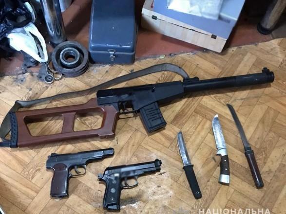 В Ровенской области разоблачили подпольных цех по производству оружия