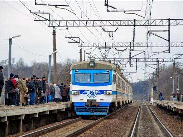 В Киеве изменят движение городской электрички