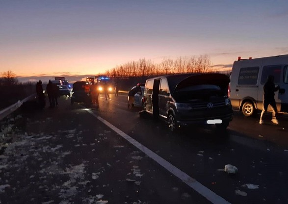 Автобус с украинцами попал в ДТП в Венгрии, есть жертвы