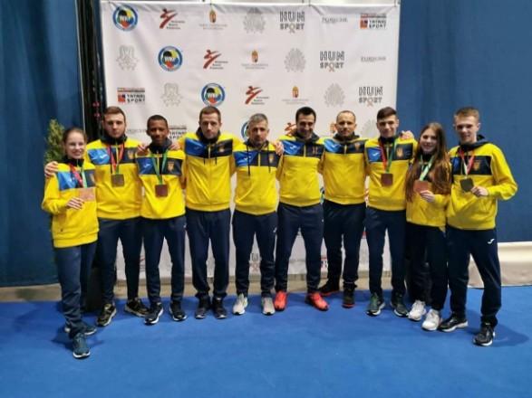 Украинские каратисты завоевали шесть медалей молодежного ЧЕ