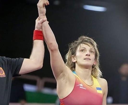 Украинка стала трехкратной чемпионкой Европы по борьбе