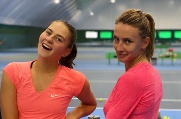 Украинские теннисистки обыграли лидеров посева парного турнира в Египте