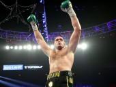 """Ф'юрі став першим боксером в """"хевівейті"""" із всіма виграними чемпіонськими поясами"""