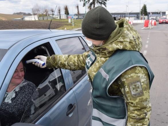 Перевірка на коронавірус: скринінг на українському кордоні пройшли понад півмільйона осіб