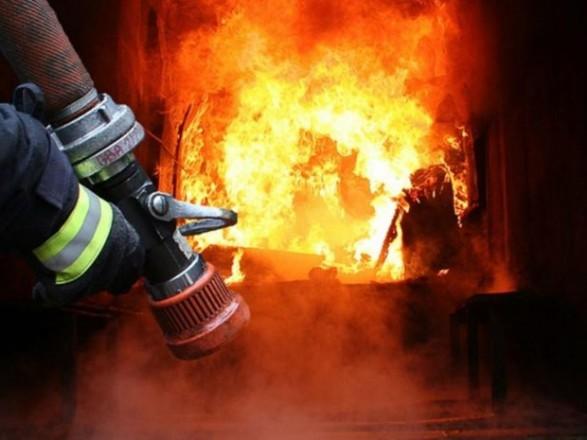 В Днепропетровской области в сгоревшей машине обнаружили тело