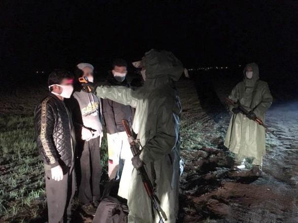 В Одесской области пограничники задержали группу нелегальных мигрантов из Сирии