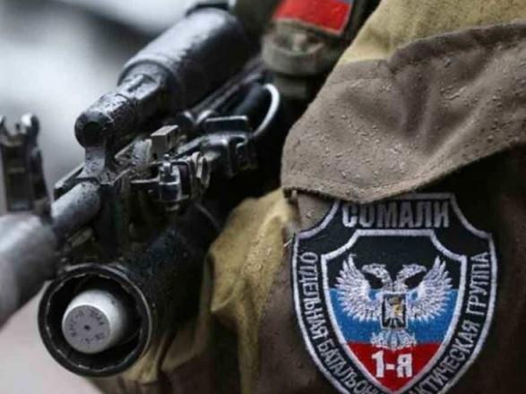 """В суд передано дело боевика """"ДНР"""", задержанного во время боевого столкновения"""