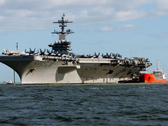 У 25 военных на борту авианосца ВМС США Theodore Roosevelt обнаружили коронавирус