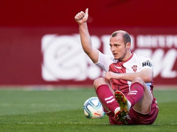 Футболист Зозуля сделал пожертвование испанской клинике