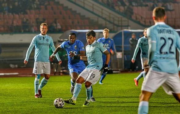 Клуб Милевского и Хачериди потерпел первое поражение в сезоне