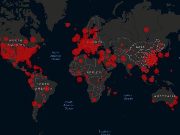 Количество смертей от коронавируса в мире превысило 95 тысяч человек