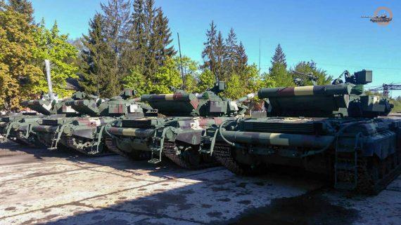 В украинскую армию передали модернизированные танки
