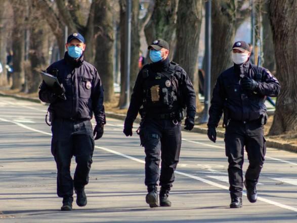 В правительственном квартале из-за акций усиленно дежурят правоохранители