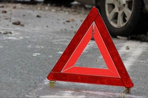 В Киеве произошло ДТП с участием 4 автомобилей