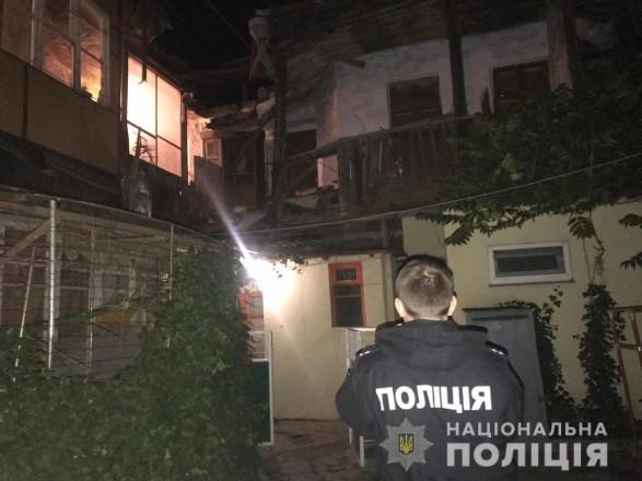 В Одессе обрушился жилой дом, проводится эвакуация людей