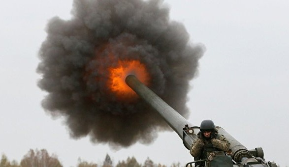 Резников: артиллеристы РФ сдают экзамены по стрельбе на оккупированных территориях Донбасса