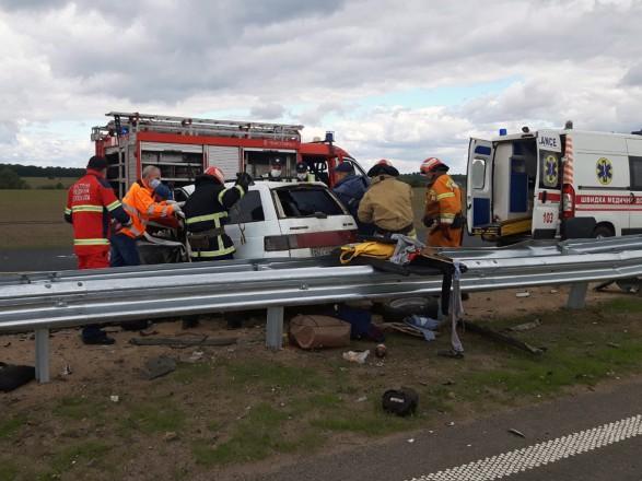 В результате ДТП в Черкасской области погибли 4 человека, еще шесть травмированы