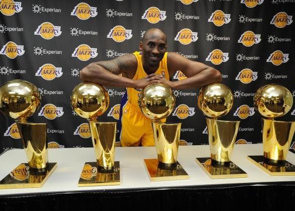 Чемпионский перстень умершего баскетболиста Брайанта продали на аукционе за 206 тыс. долларов