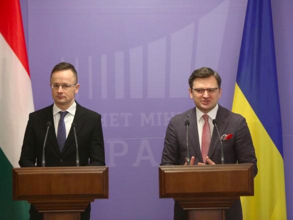 """Кулеба совершит свой первый """"невиртуальный"""" рабочий визит в Венгрию"""
