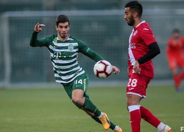 Клуб Реброва продолжил победную серию в чемпионате Венгрии