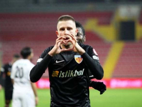 Гол нападающего Кравца помог победить турецкому клубу