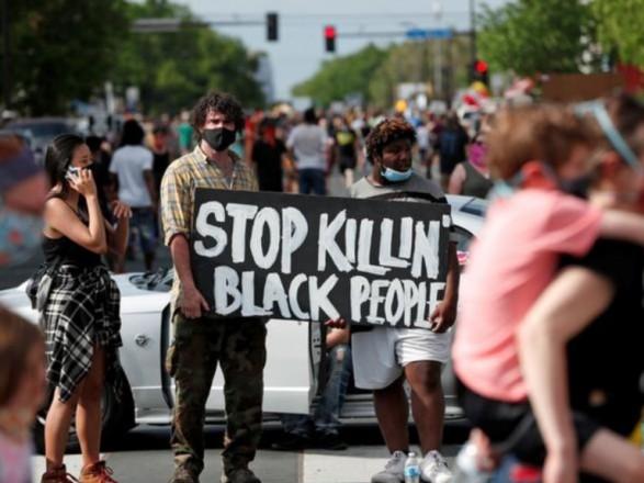 Обстановка в США: акции протестов против расизма становятся глобальными