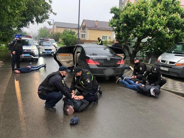 Утренние стычки и стрельба в Броварах: полиция провела массовые задержания