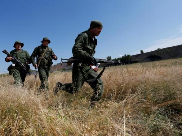 Боевики продолжают наращивать боевую подготовку - разведка