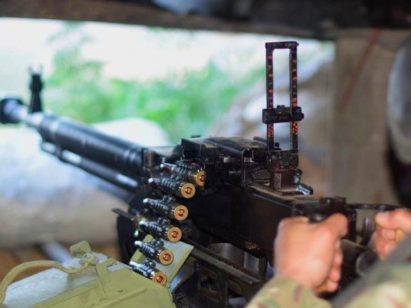 ООС: с начала суток боевики дважды обстреляли украинские позиции