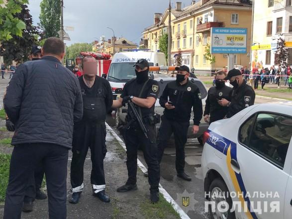 В Полтавской области мужчина сжег бывшую жену в магазине